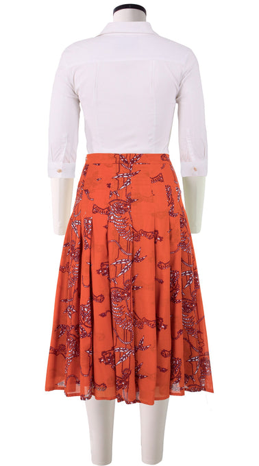 Zeller Skirt Long +3 Length Cotton Musola (Batik Tiger)