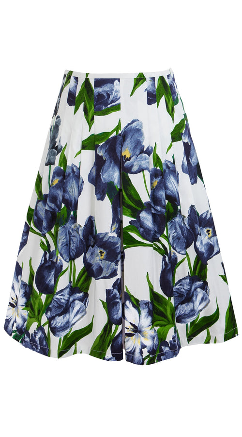 Zelda Skirt Cotton Stretch (Dutch Tulip Bright)