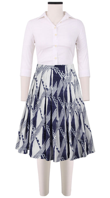 Vicky Skirt Cotton Stretch (Hampton Check)
