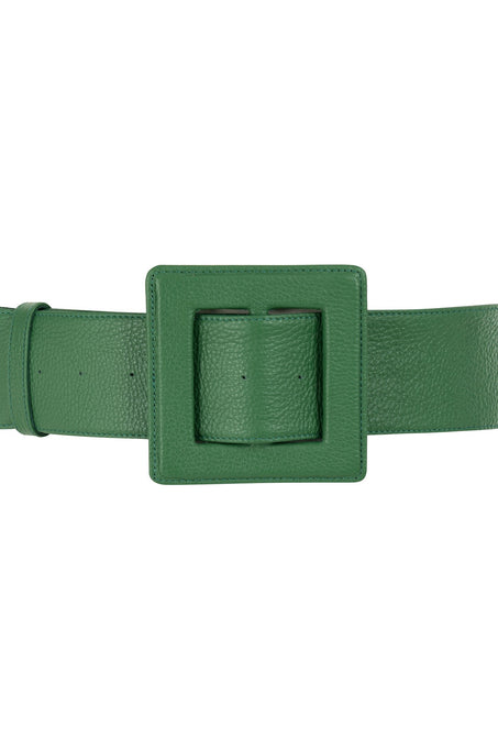 Hamilton Belt_Hermes Goat_Grass Green