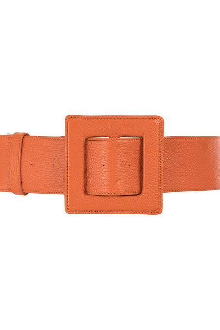 Hamilton Belt_Hermes Goat_Orange