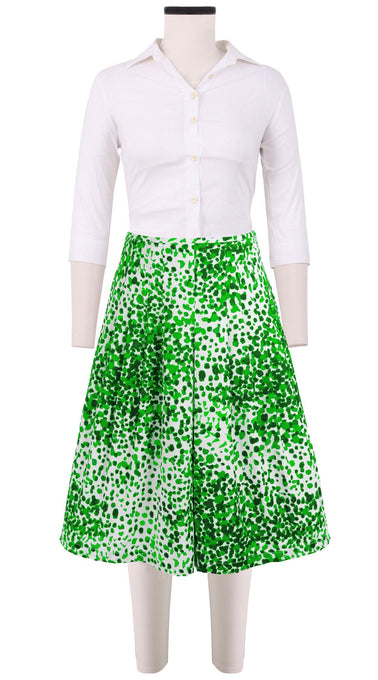 Zelda Skirt Cotton Stretch (Seurat)