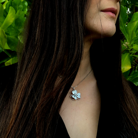 "<img src=""white flower necklace.png"" alt=""flower pendant in white and a crystal in the middle"">"
