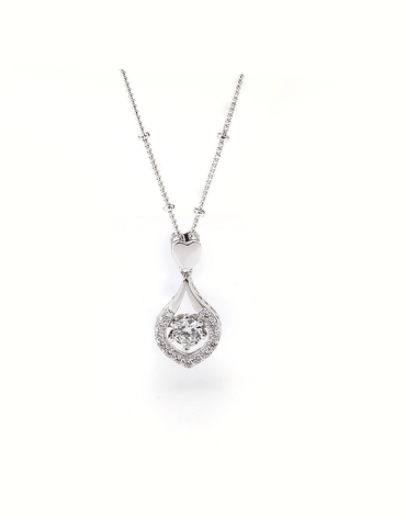 Duchess Crystal Drop Pendant Necklace