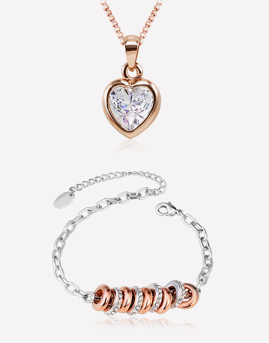 Heart of Gold Jewelry Combo