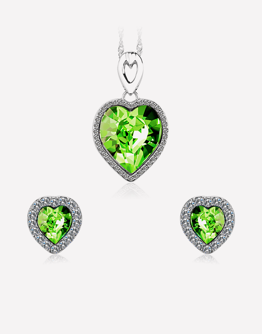 28837b09cf Latest Fashion Jewellery Sets Online Shopping - Buy Swarovski Crystal  Jewelry