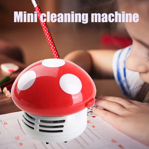 Mushroom Mini Dust Vacuum Cleaner - FloresLapis