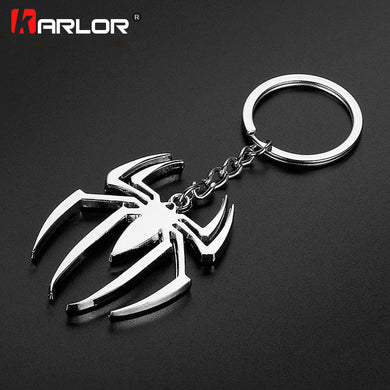 Metal Superhero Spiderman Car Keychain - FloresLapis