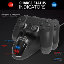 PS4 Controller Charging Dock - FloresLapis