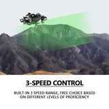 D2 4-axis WiFi FPV Real-Time Transmission 2.4GHz Altitude Hold Aircraft Air Pressure High Fpv Drone 360 Degree rolling Headless