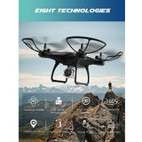 Utoghter 69601 720P Camera Wifi FPV Altitude Hold 3D Flip Headless RC Quadcopter