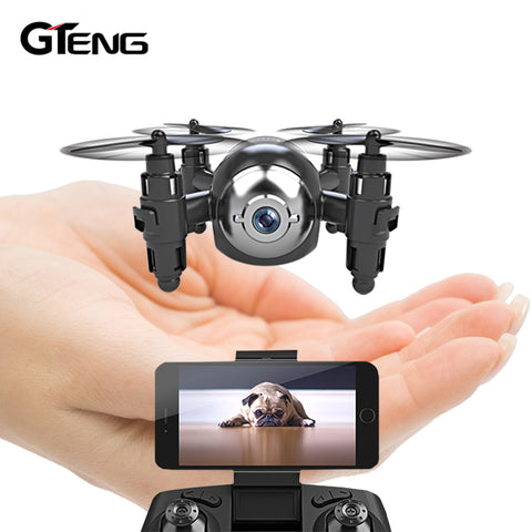 Gteng T906W FPV mini drone with HD Camera - Shotisfy