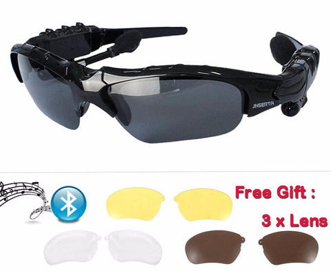 Sports Earphone Wireless Bluetooth Sunglass - Shotisfy