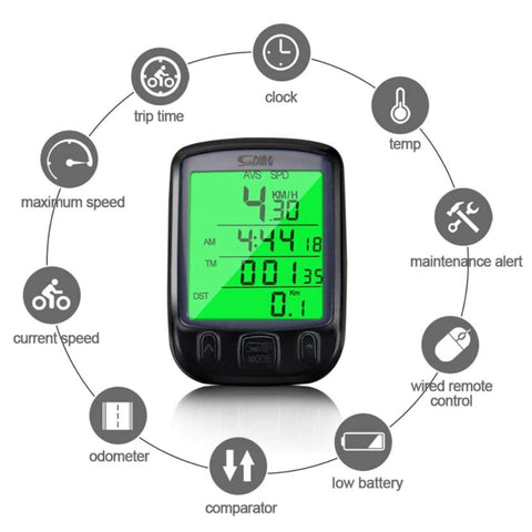 waterproof bike speedometer