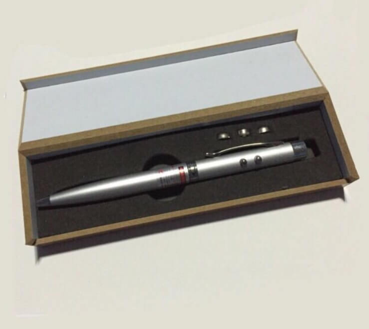 Laser Light 3in1 Pen with Box