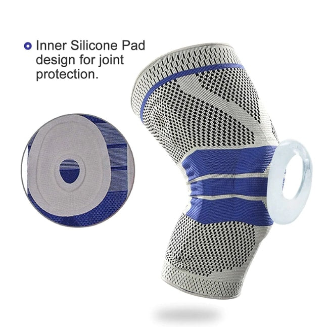 Premium Knee Support Silica Gel Reinforced - Pair (Left & Right)