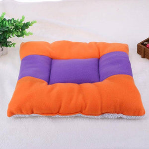 Fluffy Plush Soft Warm Pet Blanket Sided Mat Bed