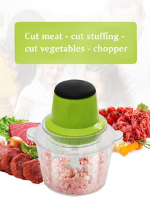 Stainless Steel Electric Meat Grinder Twister Shredder Mincer Cutter Blender