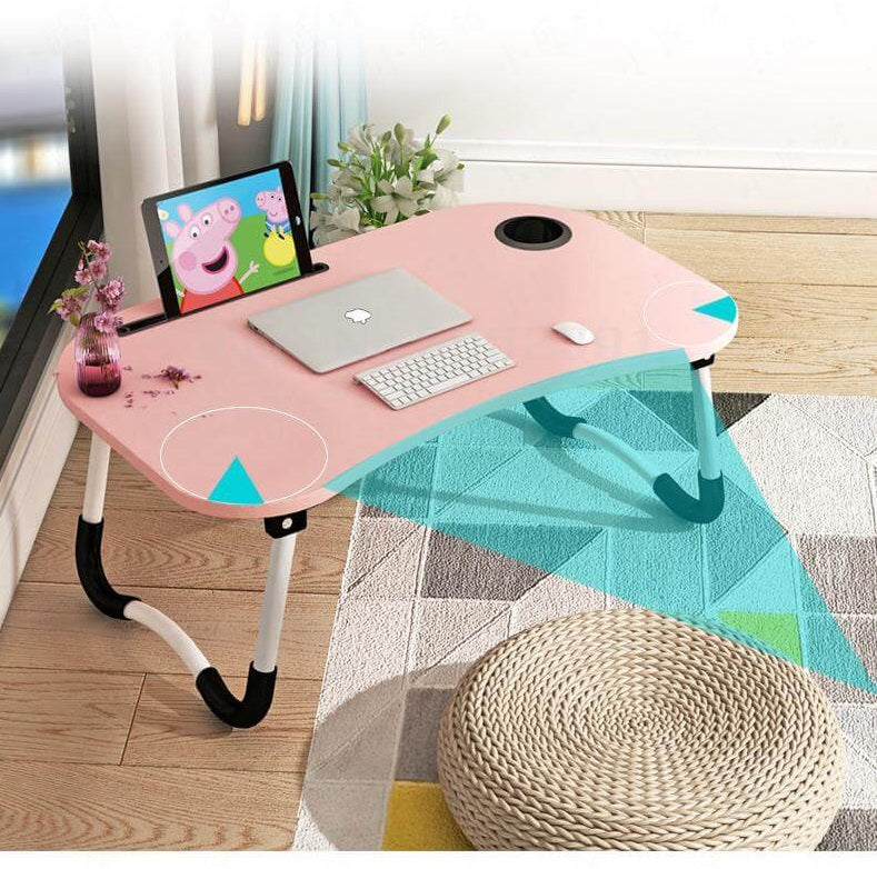 Folding Portable Lazy Laptop Stand Bed Desk Table