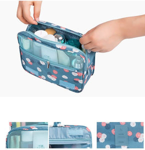 Hook Waterproof Organizer Bag for Women Makeup and Toiletries