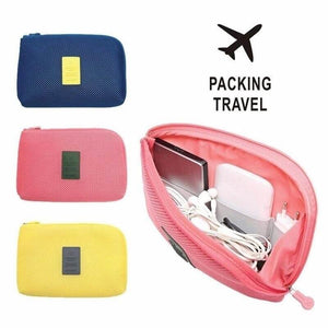 Colorful Travel Digital Kit Gadget Pouch