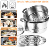 3 Layer Stainless Steel Cooker