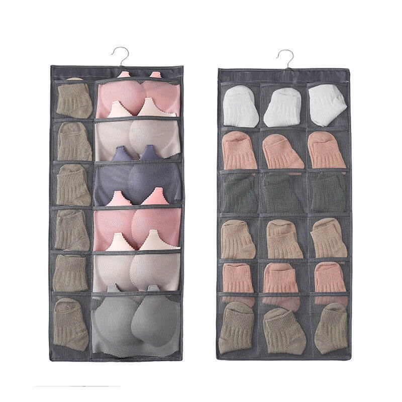 Double-sided Hanging 30 Grids Organizer