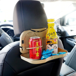 Car Food Folding Dining Table Tray