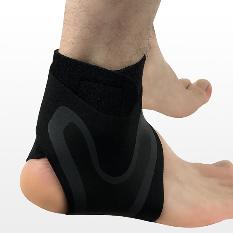 Adjustable Elastic Ankle Support - Pair (Left & Right)