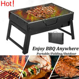 Charcoal Folding BBQ Barbecue Grill for Outdoors