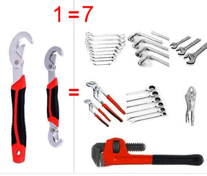 2 PCS / SET Universal Wrench Adjustable Spanner