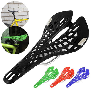 Super Light Spider Web Design Bike Seat Saddle