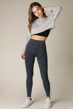 Vintage Pleated Leggings