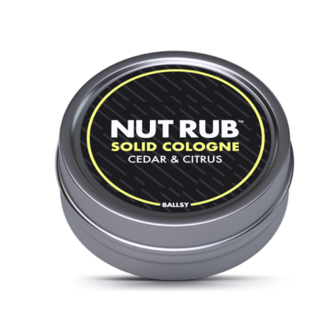 Nut Rub Cologne-Cedar & Citrus