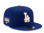 Men's Los Angeles Dodgers New Era Royal 2021 Gold Program 59FIFTY Fitted Hat
