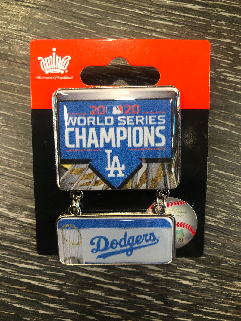Dodgers World Series Dangle Pin
