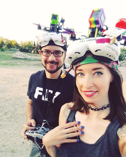 Drone_Doll - Megan in FPV goggles