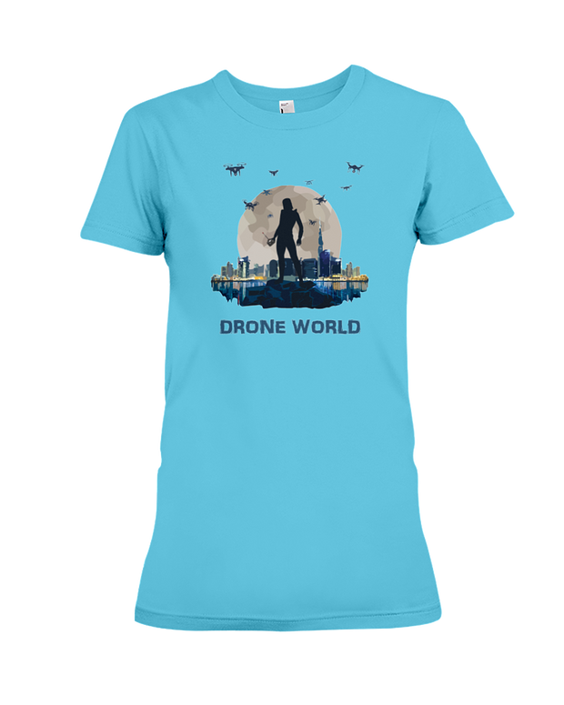 World of Drones |Woman's T-Shirt| SkyUp™
