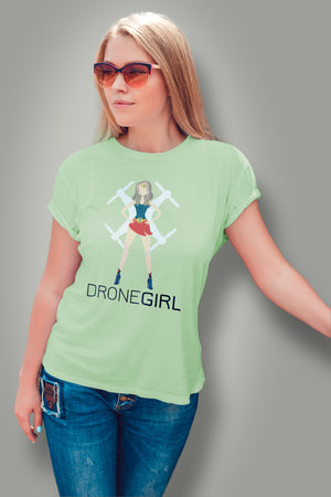 Super Drone Girl |Women's T-Shirt| SkyUp™