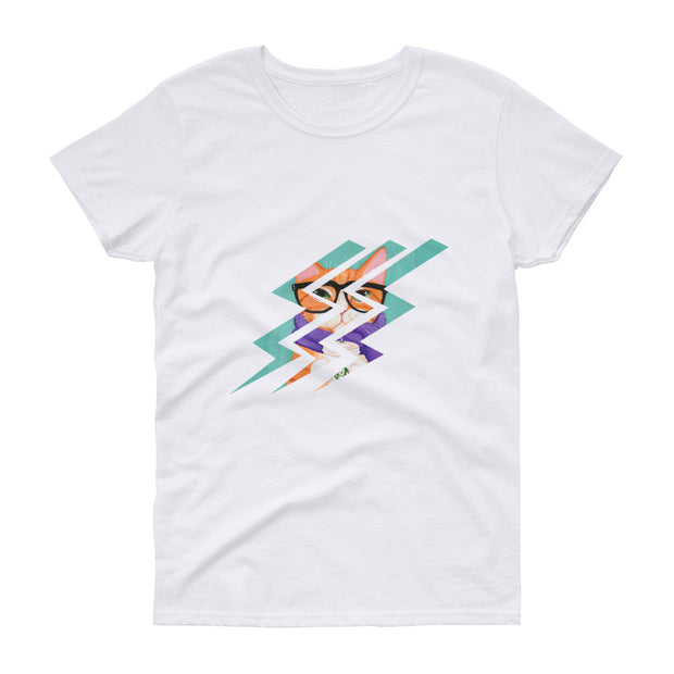 Woman's T-shirt Cat | Time2Tee™