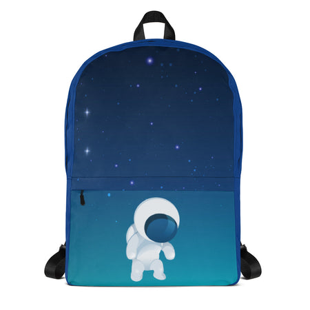 backpack bag space blue