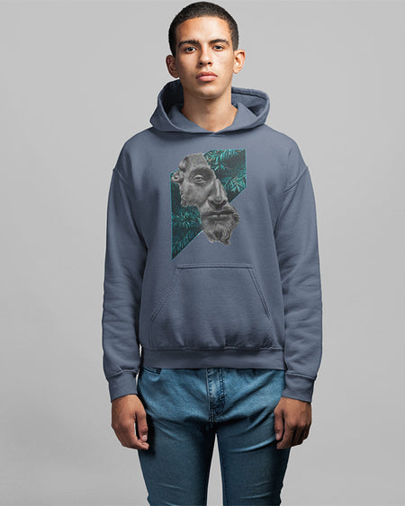 Hoodie Statue hoodies men unisex black white sport grey dark heather navy light pink light blue maroon red indigo blue irish green