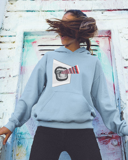 Hoodie Women Original Bla-Bla black white sport grey dark heather navy light pink light blue maroon red indigo blue