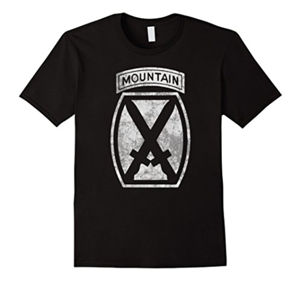 10th mountain division veteran t shirt - men women kid