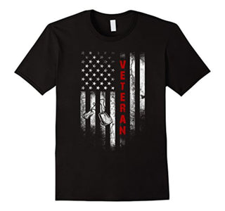 veteran shirts: american flag veteran t-shirt
