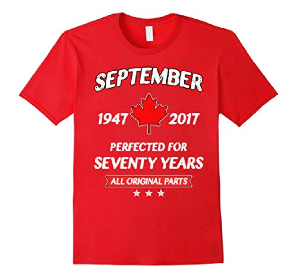 70th birthday gift for canadians who are born in sep - 1947