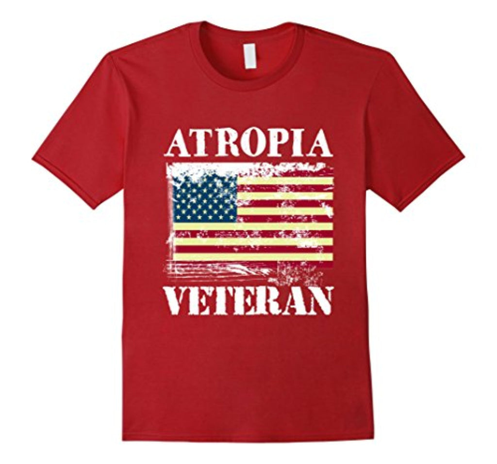 atropia veteran grandfather men t-shirt