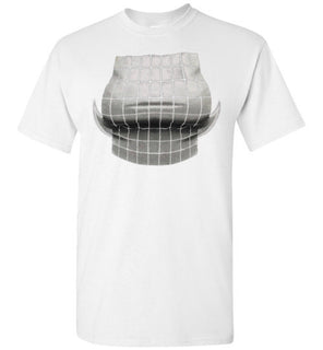funny breast t-shirt optical illusion to have a big bust