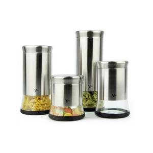 4-Piece Canister Set (B)