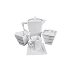 Square Collection 200 ml Porcelain Creamer